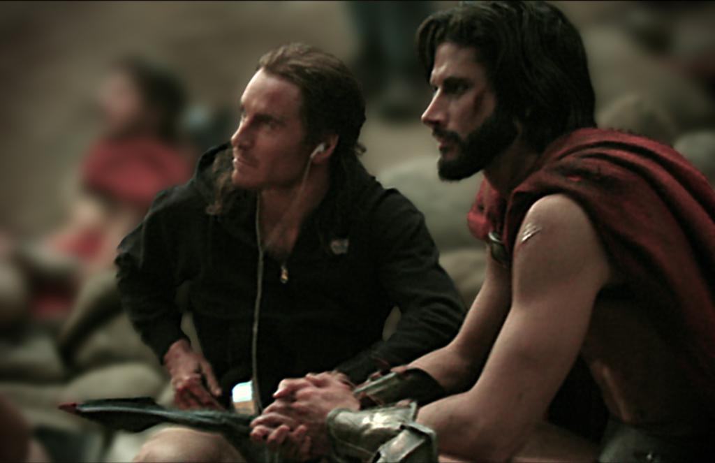Marc Trottier 300 the film zack snyder gerard butler michael fassbender spartan